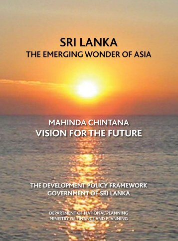 SRI LANKA - Ministry of Finance and Planning