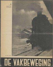 (1940) nr. 1 - Vakbeweging in de oorlog