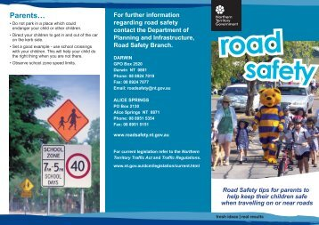 Road Safety - Department of Transport