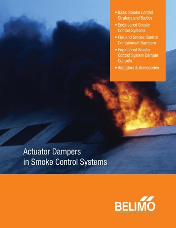 Actuator Dampers in Smoke Control Systems