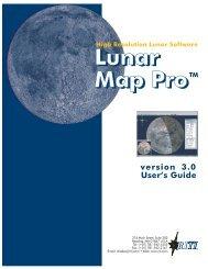Lunar Map Pro 3.0 User Guide - Reading Information Technology Inc.
