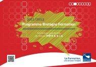 Programme Bretagne Formation - Brest Information Jeunesse