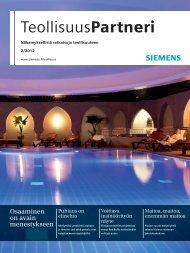 TeollisuusPartneri | 2/2012 - Siemens