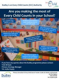Dudley is an Every Child Counts (ECC)