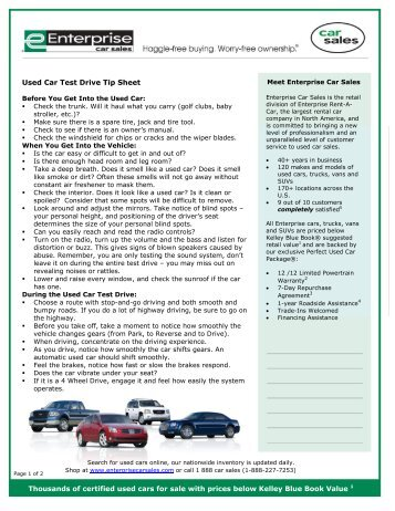 how to prep used cars for sale 6 easy steps enterprise car sales