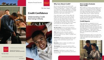 Wells Fargo – Understanding Credit And Using It Wisely - Sullivan ...