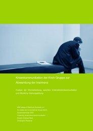 Krisenkommunikation der Kirch Gruppe zur ... - plantener.org