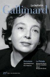 Feuilleter le Bulletin Gallimard
