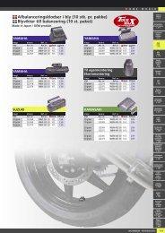 Værktøj og tilbehør til dæk - Masi-Import