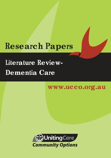 Models of dementia care in the community a literature review how to write school in japanese