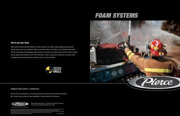 FOAM SYSTEMS - Pierce Manufacturing