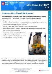 Ultra Heavy-Duty ROV 025 - Bourbon