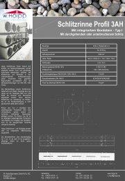 Schlitzrinne Profil 3AH - Meichle & Mohr GmbH