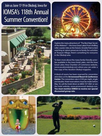Join us June 17-19 in Okoboji, Iowa