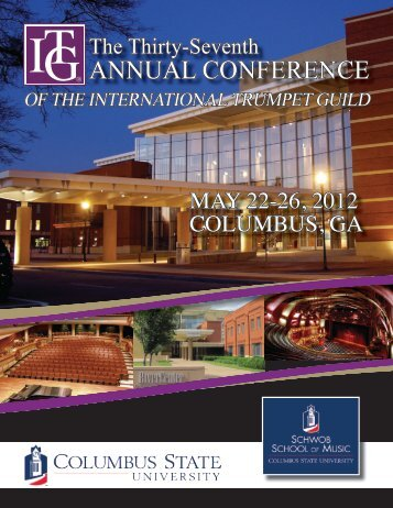 annual conference - Schwob School of Music - Columbus State ...