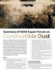Combustible Dust - International Oil Mill Superintendents Association