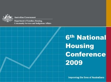 Download presentation - National Housing Conference