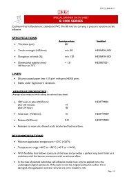 Technical Data Sheet - Hexis UK