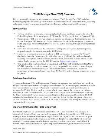 Thrift Savings Fund Statistics - FRTIB