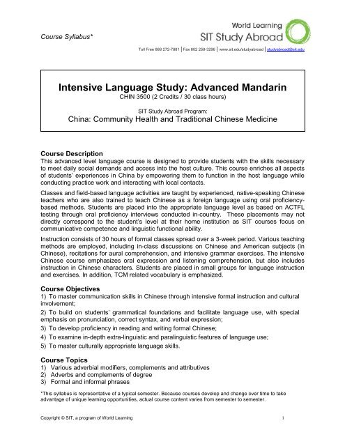Which language centers in hong kong & china?