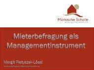 Vorstandsmitglied Märkische Scholle eG - BBT GmbH
