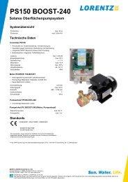 PS150 BOOST-240 - FF Solar