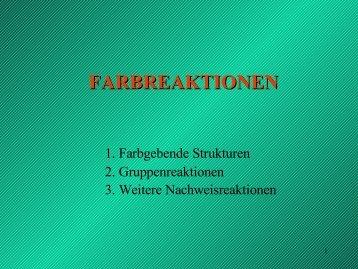 FARBREAKTIONEN