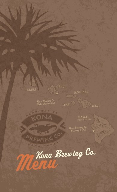 MenuKona Brewing Co. - Kona Brewing Company