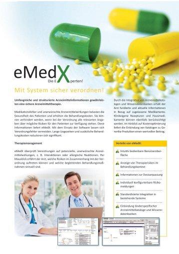 Produktinfo eMedX