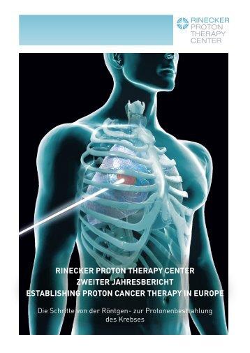 rinecker proton therapy center zweiter jahresbericht establishing ...