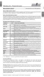 Mineraldrink-sSana® MensSana AG – Produktinformation