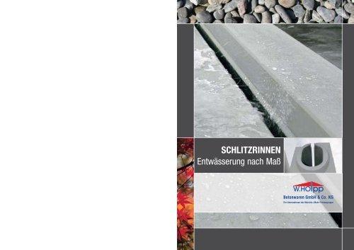 SCHLITZRINNEN - Meichle & Mohr GmbH