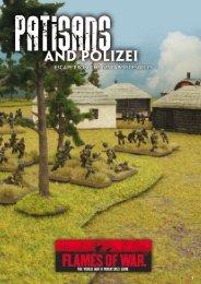 A Partisans and Polizei Scenario - Flames of War