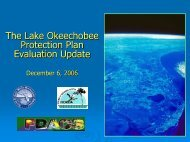 Lake Okeechobee Pilot Dredging Project - South Florida Water ...