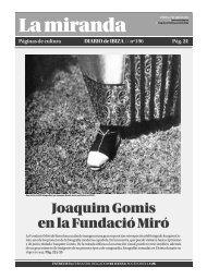 Joaquim Gomis en la Fundació Miró - Diario de Ibiza