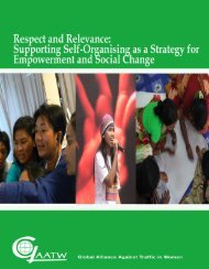 Download the report - Global Alliance Against Traffic in Women