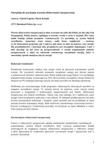 Narzędzia do uzyskania - CIRE.pl