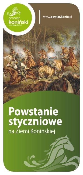 Powstanie Styczniowe na Ziemi Konińskiej - Powiat koniński