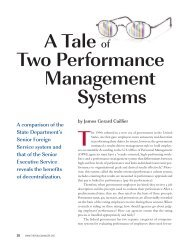 A Tale of Two Performance Management Systems - ppmrn