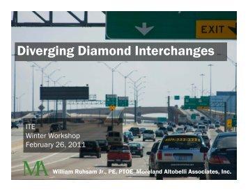 Diverging Diamond Interchanges