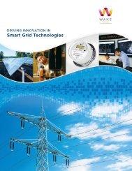 Smart Grid Brochure - Wake County Economic Development