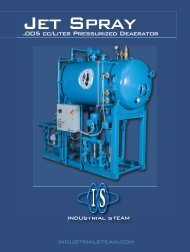 IS Jetspray Deaerator brochure - California Boiler