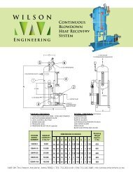 IS Continuous Blowdown Heat Recovery System ... - California Boiler