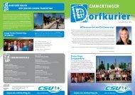 Emmertinger Dorfkurier 2013 als pdf-Datei - CSU Emmerting