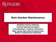Rain Garden Maintenance - Rutgers Cooperative Extension Water ...