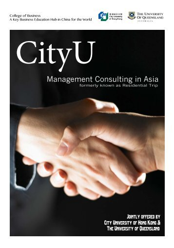 Management Consulting in Asia - Department of Information ...