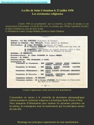 Les fêtes religieuses de 1950 - L'association des Amis de Saint ...