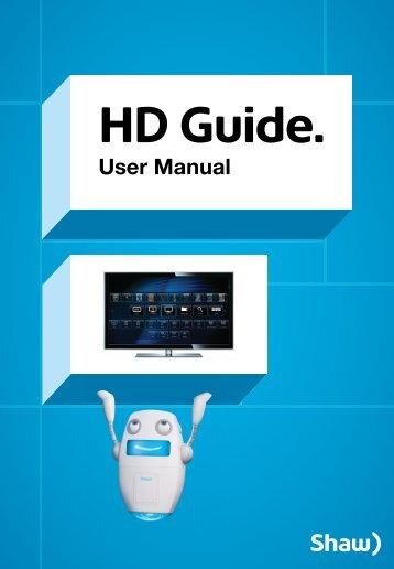 HD Guide User Manual - Shaw