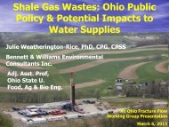 Continuing Investigations into the Interactions of ... - Ohiowater.org