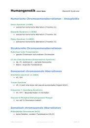 Humangenetik short facts - anthropia